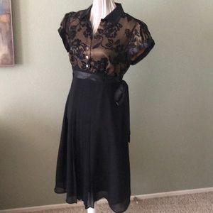Robbie Bee Dresses - Robbie Bee black dress